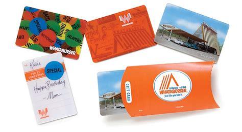 Whataburger Gift Card Balance - whataburger gift card lamoureph blog