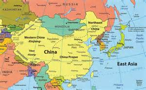 political map east asia weiszworldgeo8 l east asia