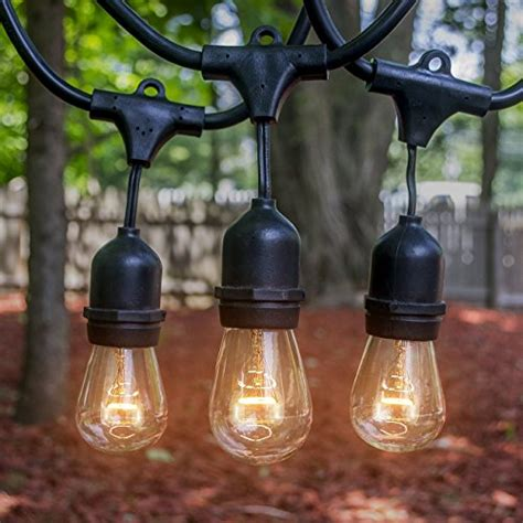 commercial grade heavy duty outdoor string lights led concepts 174 outdoor indoor edison style string lights