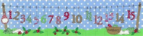printable number washing line childrens puzzle illustration washing line jigsaw