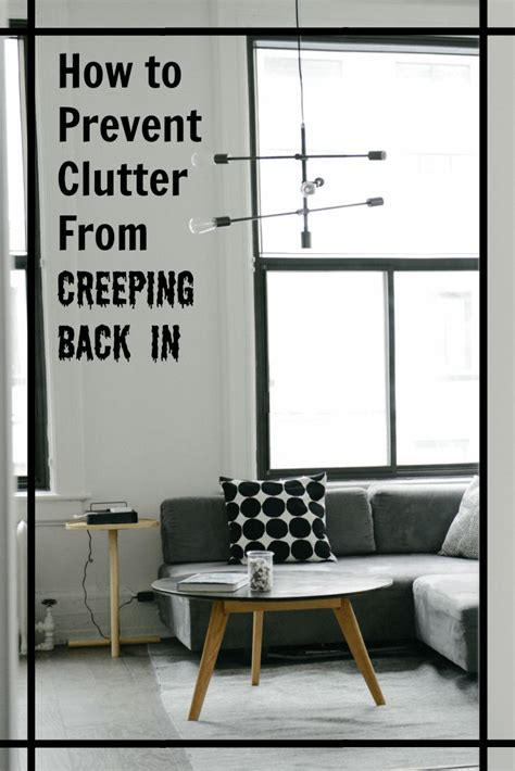 4 Ways To Stop Bringing In Clutter Did You Just Finish Decluttering And Want To Keep Your House 1116 Best Images About Decluttering Purging Tips Ideas On