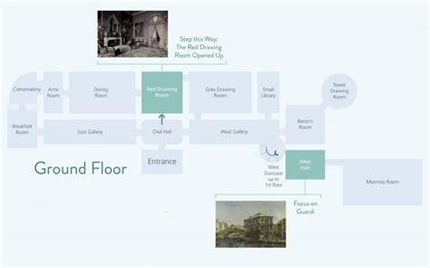 waddesdon manor floor plan detail of ground floor plan of highlights of the house waddesdon manor