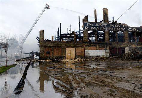 woodworking michigan destroys former michigan woodworking plant