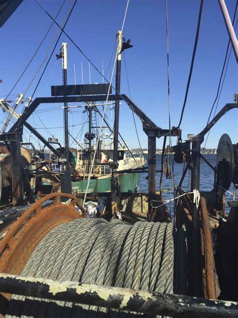 aboard  carlos seafood scallop boat   bedford harbor