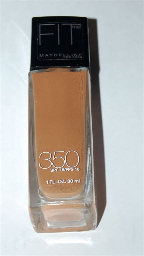 Maybelline Fit Me Liquid Foundation maybelline fit me liquid foundation color caramel 350