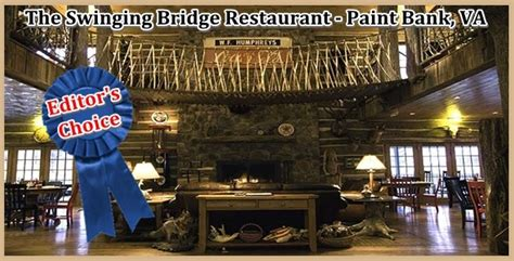 swinging bridge restaurant paint bank va the swinging bridge restaurant paint bank va roanoke