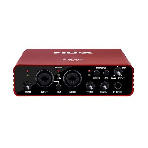 Daftar Audio Interface Usb disc nux uc 2 usb audio interface op gear4music