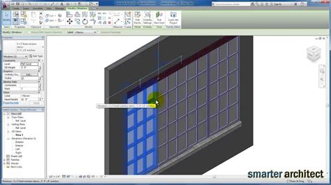 revit tutorial window family revit tutorials window family creating a material