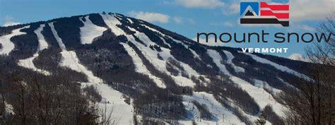 mount snow vermonts closest big mountain ski wanderlust mount snow vermont dixie delights