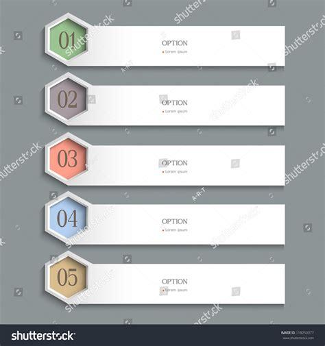 horizontal layout web design white horizontal design template vector website layout