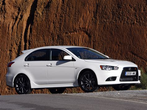 mitsubishi evo hatchback lancer x ralliart hatchback 10th generation lancer