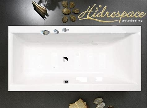 vasche albatros albatros duo 180x80 180x90 vasca da bagno rettangolare