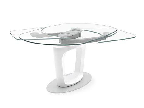 calligaris tavolo orbital calligaris orbital extending table by pininfarina