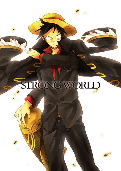 strong world page    zerochan anime image board