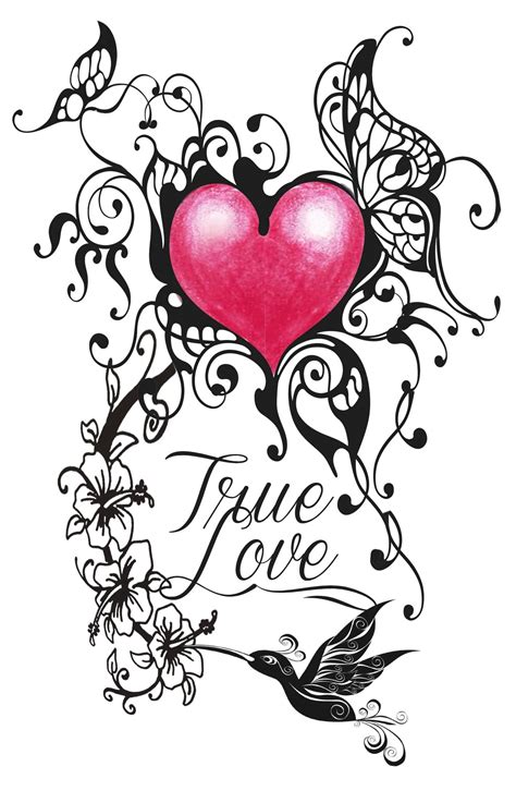 true love tattoos designs 16 designs