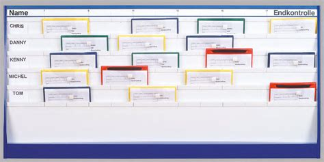 werkstatt tafel plantafel visualisierung termine abl 228 ufe himac