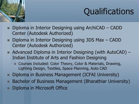 qualifications for interior design aruna interior designing profile