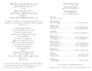 wedding programs templates free free wedding program template 11 wedding programs fast