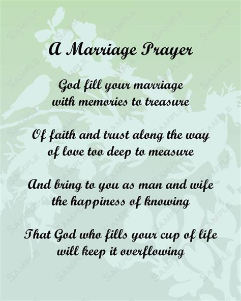 Items similar to A Marriage Prayer Poem Love Poem for