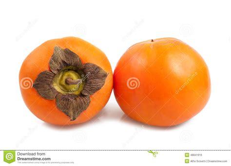 Keset Kaki Printing Fruits Berkualitas persimmon stock photo image of persimmons diet orange 48841916