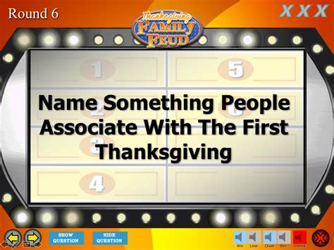 Thanksgiving Family Feud Trivia Powerpoint Game Mac And Family Feud Powerpoint Template With Sound