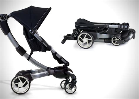 Origami 4moms Stroller - origami power folding stroller by 4moms hiconsumption