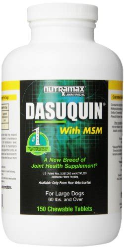 dasuquin with msm for large dogs nutramax dasuquin with msm for large dogs 150 tablets dogs helper