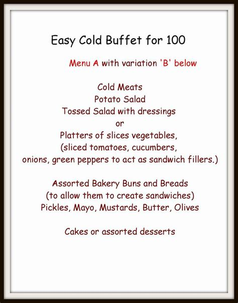 easy holiday buffet menu ideas 17 best images about recipes buffets and food bars on