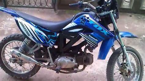 modifikasi motor bebek hasil modifikasi motor bebek menjadi trail