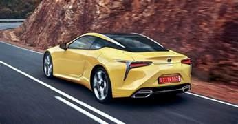 Lexus V8 Lexus Lc500 Same V8 Engine More Torque Better Sound