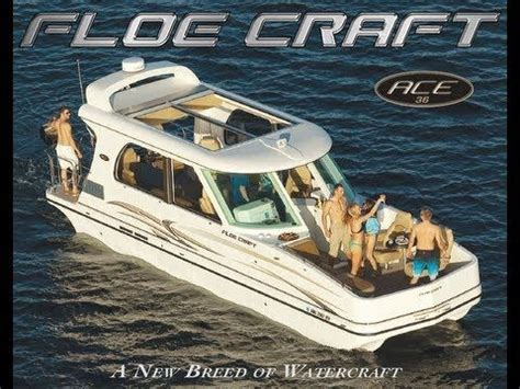 western boat lift 2012 ace 36 floe craft a new breed of watercraft