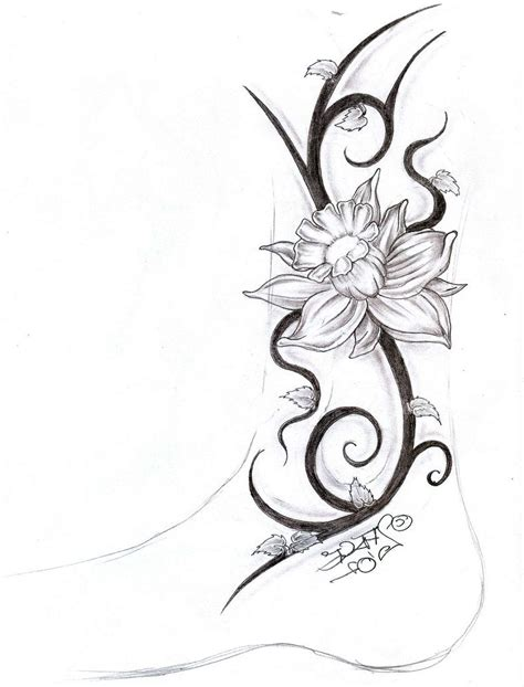 tribal flower tattoos for women tribal flower tattoos for pictures to pin on