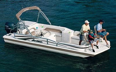 2007 hurricane deck boat research godfrey marine 228 re deck boat on iboats