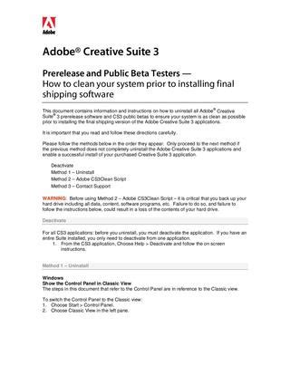 Adobe Creative Suite 3 Launch Finally by Cs3 Clean Up Read Me By Pay1313 Issuu