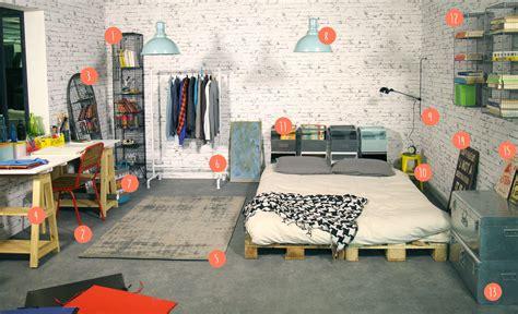 chambre style atelier hambre d 233 co atelier d artiste