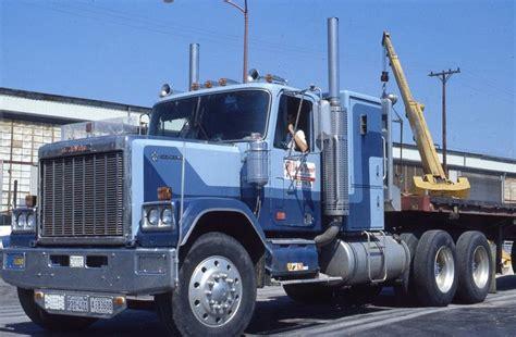 gmc semi truck gmc general semi truck tractor with trailer 1981 original