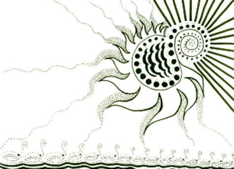 doodle sun meaning the sun vs the and the bird zu