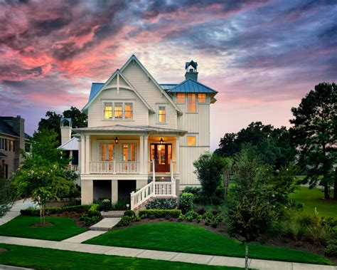 the coastal house tour this elevated coastal cottage in charleston sc