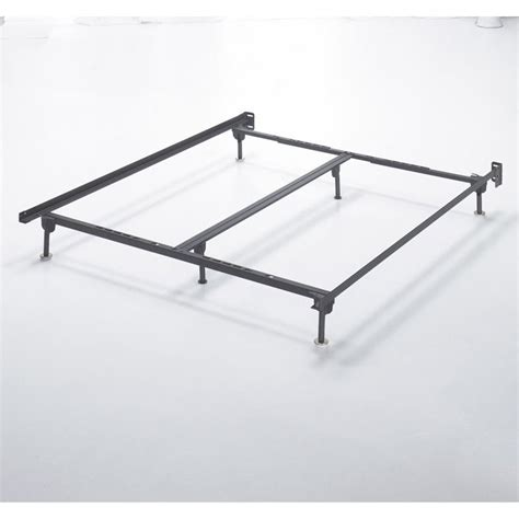king bed metal frame ashley queen king california king metal bed frame in black