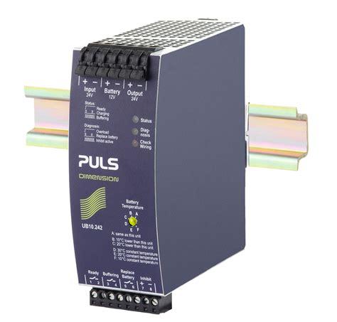 transistor ups puls products ub10 242 dc ups unit