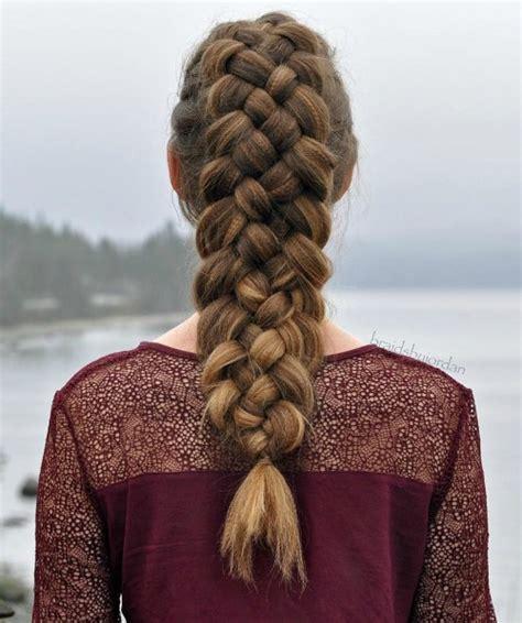 written instructions for 5 strand dutch braid 20 great 5 strand braid hairstyles worth mastering