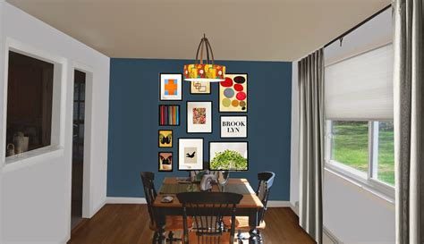 diy living room accent wall ideas diy do it your self