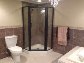 Stand Up Shower And Bathtub Stand Up Shower Bathroom Home Improvements