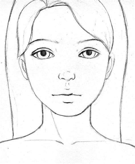 blank male face coloring pages
