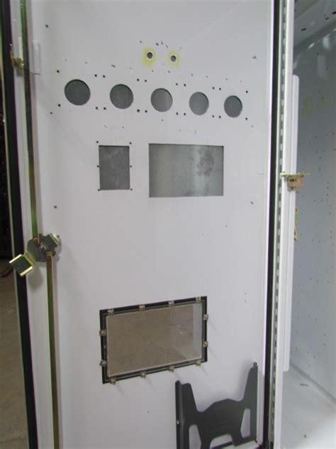 100 Doors 18 Floor by 72 Quot Hx73 Quot Wx18 Quot D Electrical Enclosure Box 2 Door Floor Stand