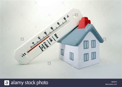 heater temperature in winter house with thermometer showing 20 degrees celcius room