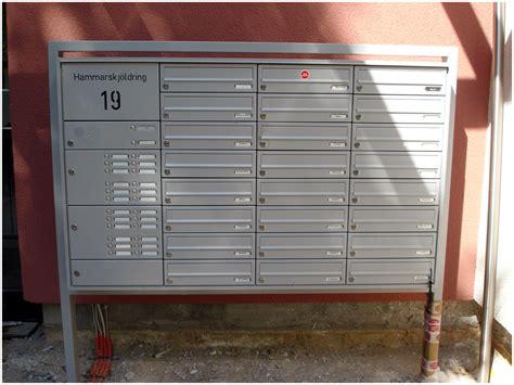 freistehende briefkastenanlage mehrteilige freistehende briefkastenanlage fabrikat renz