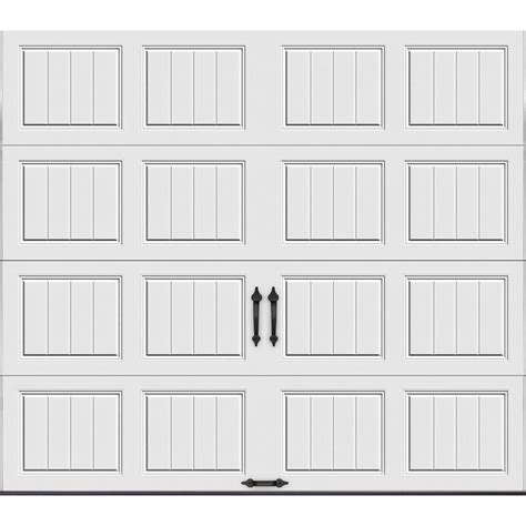 9 X 6 6 Garage Door by Clopay Gallery Collection 9 Ft X 7 Ft 6 5 R Value