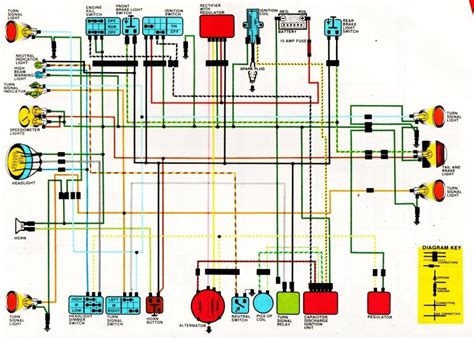 1972 honda cb350 wiring diagram wiring diagram and