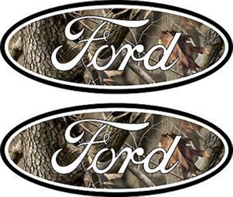 Camo Jeep Emblems 2 Camouflage Ford Emblem Decal 04 11 Ranger Excursion F250